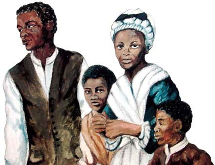Black Loyalist Family